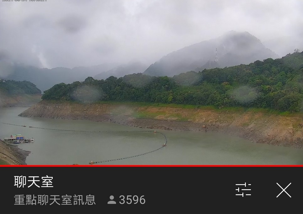 近期最療癒的影片,8000人同時觀看石門水庫下雨,也進帳250萬噸,蓄水率提高1.2% @桃園起風了!