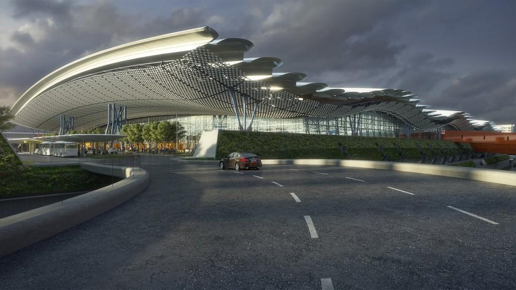 桃園機場第三航廈主體6/1開工(期待嶄新國門) @桃園起風了!